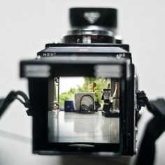 Rolleiflex Automat K4 with Maxwell Bright Focus Screen. © Jim Fisher