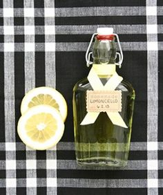3 Easy Edible Gifts To Thank Your Summer Hostesses: Limoncello