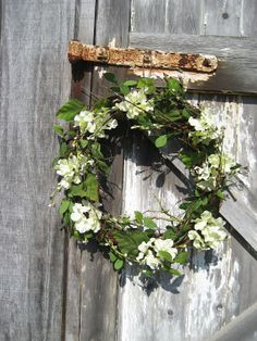 Rustic Grapevine wreath with Lime by FireflyGardensByPam on Etsy, $54.99