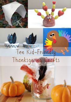 10 Thanksgiving Crafts For Kids