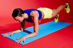 6 Workout Moves You're NOT Doing — But Should Be #refinery29  http://www.refinery29.com/how-to-tone-muscles#slide6  Without letting your hips rise or sink, lift your left foot a few inches from the floor. Pause, then return your foot to the floor. Alternate sides with each rep and continue for 30 seconds. Rest, then do another set.
