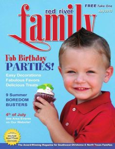 Summer Birthday Party Ideas for Red River and Rio Grande Magazines! by Bird's Party