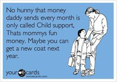 GREEDY EX WIFE USING KIDS MONEY....SICK