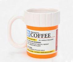 Prescription for Coffee Mugs
