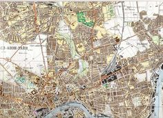 The mystery and strange beauty of Russian maps of the UK - The Soviet military spent more than 50 years on a secret project creating maps of practically everywhere in the world during the Cold War #London #Cartography