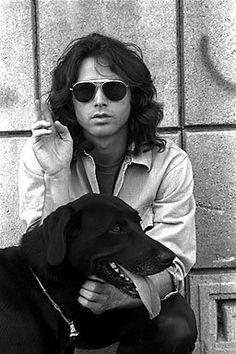 Jim Morrison and Lab