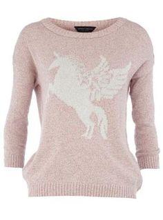 sweaters, style, unicorn sweater, jumpers, dorothy perkins, unicorn clothing, unicorn jumper, pink unicorn, unicorns