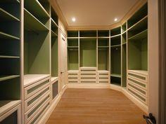 Custom Walk-In Master Closet - closet - dc metro - Savena Doychinov, CKD/Design Studio International