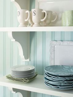Decorative brackets make any space fun and unique: http://www.bhg.com/home-improvement/remodeling/budget-remodels/how-to-save-money-remodeling/?socsrc=bhgpin080714diyembellishments&page=6