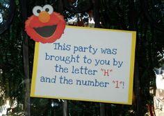love this sign idea!