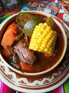 Mole de Olla - Hispanic Kitchen April 2014