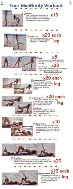 Tone It Up! Malibooty Workout