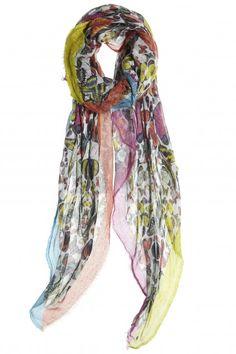 printed summer scarf