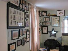 DIY Photo Gallery Walls
