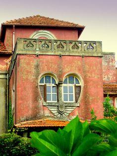 architectur, heartwindow, heart shape, door, hous