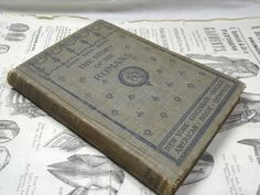 1896 Antique Roman History Book  The Story of by SellItAgainBooks, $18.50