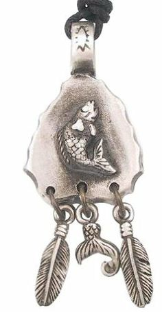 Southwestern Style Fish Arrowhead Pewter Pendant Necklace Dan Jewelers. $13.57. Dan Jewelers has tens of thousands of positive feedbacks across the internet.. Satisfaction guaranteed.. Good value. Hypoallergenic. Does not tarnish. Save 32% Off!