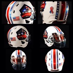 9-11 Memorial Helmet to honor & pay tribute to all victims & honor our servicemen & women #NeverForget911