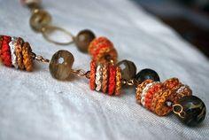 Long Crochet Beaded Necklace. Victoria Letemendia Koupparis  Paphos, Paphos District,  Cyprus