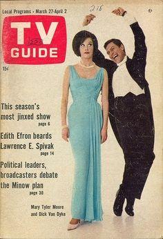 cover 1960s, bees, vans, singing, tv guid, dickvan dyke, tvs, mary tyler moore, dance