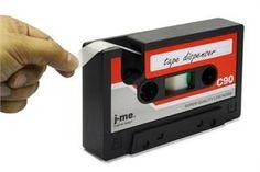 Ha, cassette tape dispenser!