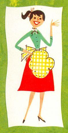 Knox Salad Book 1958. No artist credit. decorating kitchen, modern kitchen design, interior design kitchen, cover books, salad book, artist books, book covers, modern kitchens, kitchen designs