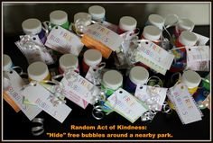 Random Act of Kindness: Bubbles