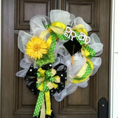 Graduation wreath!!