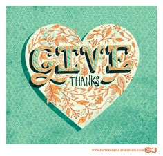 Give Thanks /// PatternDaily