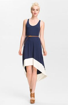 FELICITY & COCO Belted Jersey Tank Dress | Nordstrom