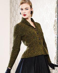 Peplum Jacket   Knitting Fever