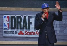 Watch emotional Isaiah Austin (Baylor) get selected with ceremonial pick in NBA draft days after he was diagnosed with Marfan disease.