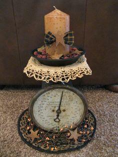 Primitive Crafts | Antique Scale | DIY & primitive crafts