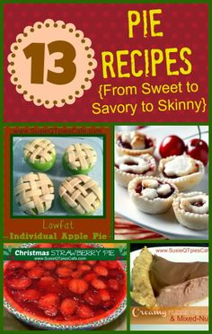 13 National Pie Day Recipes #pieday #nationalpieday #pierecipes