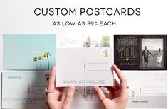 Custom Postcards fro
