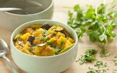 Spicy Vegetable and Potato Curry //  Serve with brown basmati rice #healthy #vegan #recipe