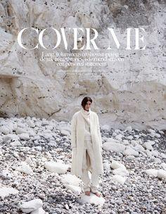 """Cover Me"" Emma Champtaloup By Annemarieke Van Drimmelen For Vogue Netherlands September 2014"