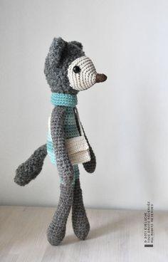 eveluche - the gray fox