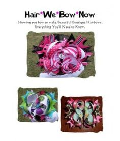 How to Make Boutique Hairbows bow tutorial, boutiques, boutiqu haribow, hairbow craft, hairbow idea, boutiqu hairbow, hair stuff, hair bow, beauti boutiqu