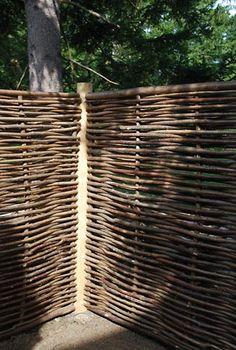 5 x 6 Hazelwood Hurdle Fence Panel | Online Garden Store