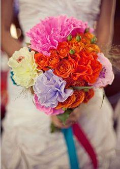Mexican Wedding Decorations | Bouquet - #Mexican #wedding | Boda Mexicana