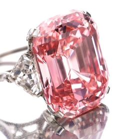 "The Graff Pink Diamond, 24.78 carats. Once owned by Harry Winston, it has been described as ""one of the greatest diamonds ever discovered""."