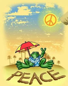 Peace frog..