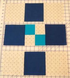 Hand vs Machine Quilting Tutorial Part 2: Pinning + Piecing