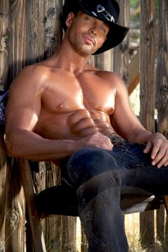 Hot cowboy muscle male man hunk love life nice jeans underwear shower. This is Marty...dancer in the Thunder From Down Under group. I've seen him in person....mighty fine!!