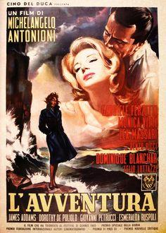 Italian Movies ~ #movies #film #director #Italianmovies #cinema  #Italian ~ L'avventura