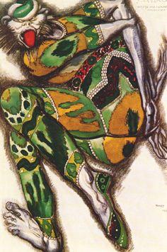 Sadko the Green Monster   - Leon Bakst