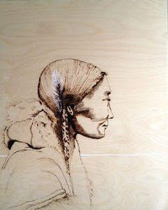 Katya Roberts: Woodburning