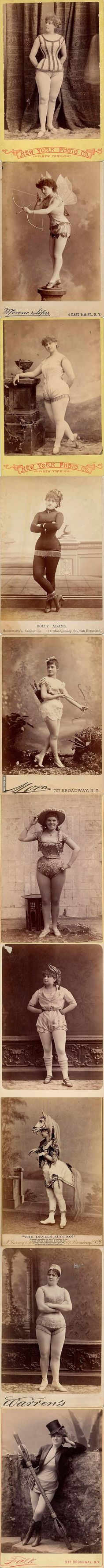 Exotic Dancers from the 1890s