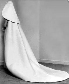 cristobal balenciaga, wedding dress 1967